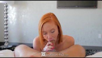 Lesbian babes finger and lick pussy