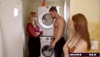 Hard Fucked three young blonde