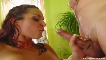 Big ass whore Jamie Jackson gets pounded