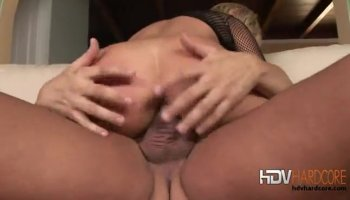 A lonely slut that fucking her stepson