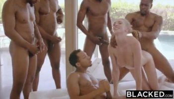 Dude getting his ass toy fucked by a busty bitch